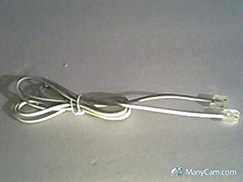 General Jack E330517 20251 26AWG 150V 2-Pin (2 Wire) Telephone Cable ...