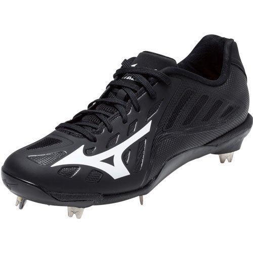 Mizuno Men's Heist IQ Baseball Shoe Black/Black best official cheap price buy cheap recommend VpU99xZr