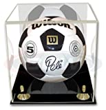 BCW Deluxe Soccer or Volley Ball Display Case - with Mirror - Sports Memorabilia Holder - Collecting Supplies
