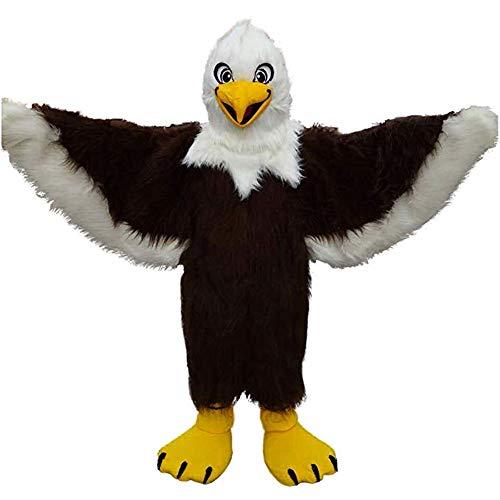 Brown Eagle Mascot Costume Adult Halloween Costume]()
