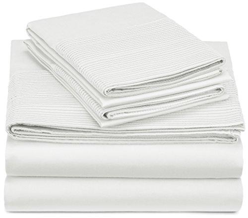 Pinzon 400-Thread-Count Egyptian Cotton Sateen Pleated Hem S