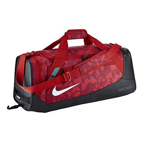 Nike Men's MVP Select 2.0 Graphic Baseball/Softball Duffel Bag University Red/Black/White by NIKE