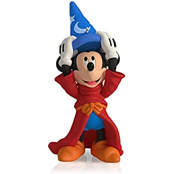 Hallmark Keepsake Ornament: Disney Fantasia The Sorcerer's Apprentice Mickey Mouse : 4th in the Mickey's Movie Mouseterpieces series