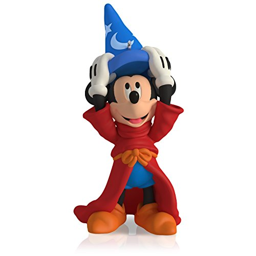Fantasia The Sorcerers Apprentice - Hallmark Keepsake Ornament: Disney Fantasia The Sorcerer's Apprentice Mickey Mouse : 4th in the Mickey's Movie Mouseterpieces series