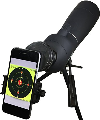 Target Shooting Spotting Scope 20x-60x magnification, angled 60mm lens (20-60×60) from RangeHAWK, Clear Optics with Digiscope smartphone adapter. Best for Shooting, Hunting, Glassing, Astronomy, Extra! – DiZiSports Store