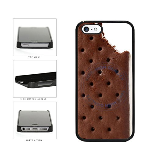 BleuReign(TM) Funny Half Eaten Ice Cream Sandwhich Plastic Phone Case Back Cover For Apple iPhone 5 5s (Dripping Ice Cream Iphone 5s Case compare prices)