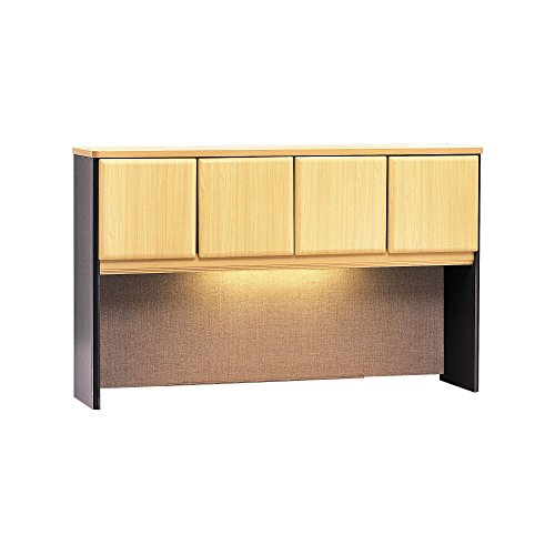 Bush Business Furniture Series A Collection 60W Hutch in - Bush Collection Beech