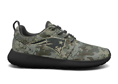 Mens Roshe One Lightweight Military Camouflage Cute Mesh Cross-Country Running Sneakers Shoes ()