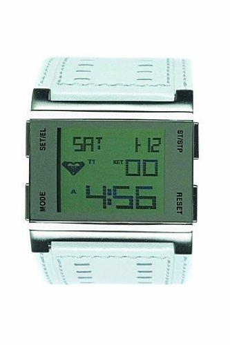 Roxy W084BL-WHT - Reloj, correa de cuero color blanco: Amazon.es: Relojes
