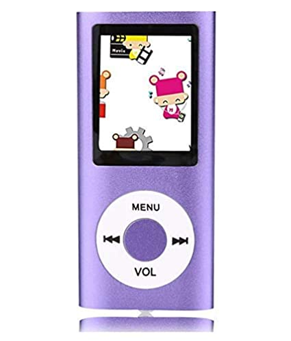 Wonderford Supreno 4th Gen MP4 Player  Purple
