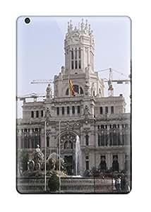 Ipad Mini/mini 2 OKjEMHu4811GgASn Madrid City Tpu Silicone Gel Case Cover. Fits Ipad Mini/mini 2