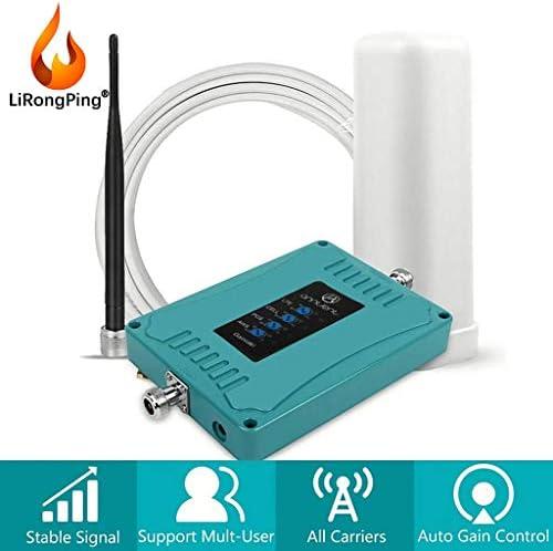 4G LTE AT&TVerizon 4G LTEデータ&音声コールホームアンプを向上させるための携帯電話の信号ブースター850分の700/1700 / 1900MHzの (Antenna : Omni-Whip)