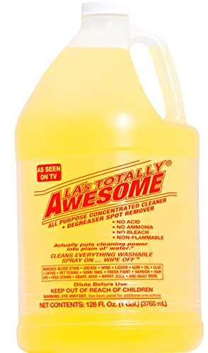128oz Refills, 1 bottle Original - La's Totally Awesome All Purpose Concentrated Cleaner Degreaser Spot Remover Cleans Everything Washable As Seen on - Concentrated Degreaser