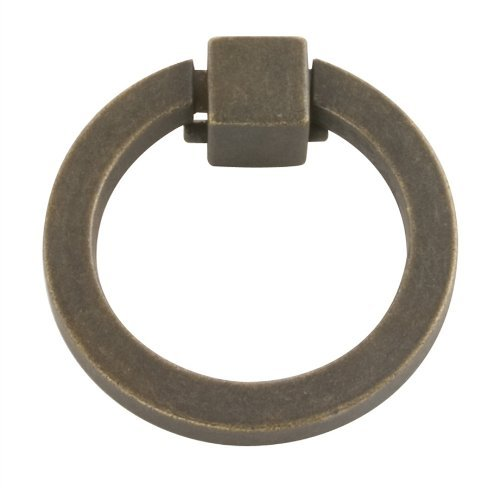 Belwith P3190-Woa Ring Pull 2-3/32in Windover Antique (Pack of 10) by Hickory ()