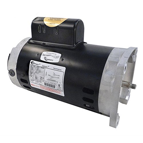 Square Speed Flange 2 Motor - A.O. Smith Century B2843 Square Flange 2HP 3450RPM Single Speed Pool Pump Motor