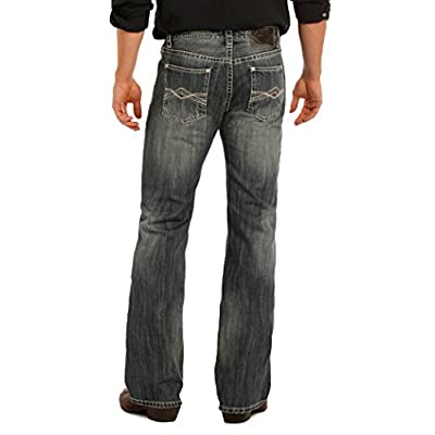 Rock and Roll Cowboy Mens Pistol Regular Fit Jeans M0P9485 supplier