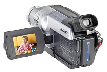 Sony DCRTRV350 Digital8 Camcorder with 2.5 LCD, Memory Stick capabilities (Certified Refurbished)