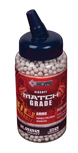 Crosman biodegradable airsoft 0 20g white