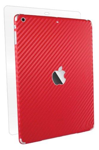 - BodyGuardz Armor Carbon Fiber Full Body Stylish Protector for iPad Air/Air 2, Red (BZ-ACRP5-1013)