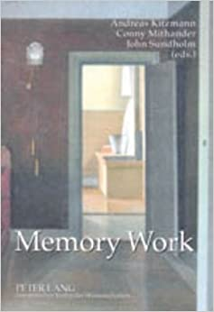Book Memory Work: The Theory and Practice of Memory