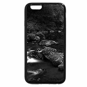 iPhone 6S Plus Case, iPhone 6 Plus Case (Black & White) - autumn flow