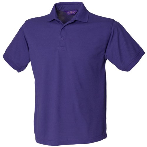 Henbury H40065/35Polycoton Polo pour Femme 3x l Violet
