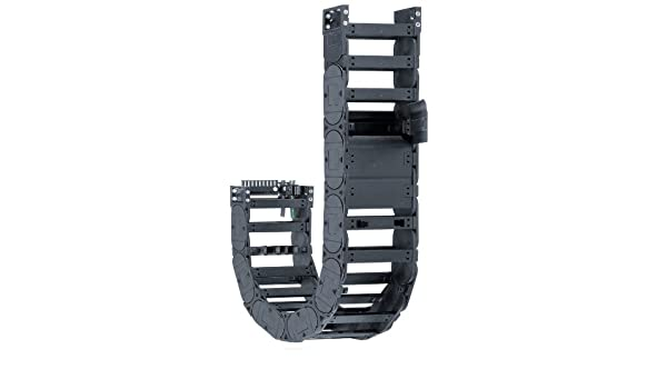 1.5 Max Cable Diameter 1.65 Inner Height 3ft Chain Length 1.65 Inner Height 5.91 Inner Width 7.87 Bend Radius 3ft Chain Length Polymer 7.87 Bend Radius Snap-Open Crossbar Igus E4-42-15-200-0 Energy Chain Cable Carrier 5.91 Inner Width