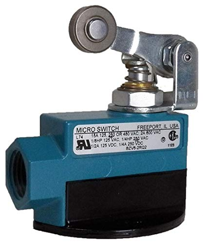 Plunger, Roller Lever General Purpose Limit Switch; Location: Top, Contact Form: 1NC/1NO, Release Fo - 1 Each