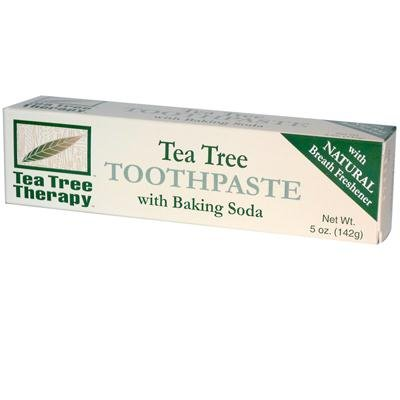 Tea Tree Therapy Toothpaste with Baking Soda ( 5-Pack) (Mouthwash Therapy Tree Tea)