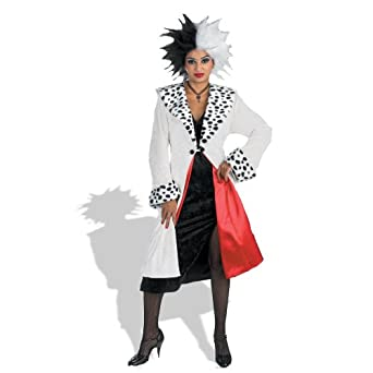 disguise prestige adult cruella devil costume clothing. Black Bedroom Furniture Sets. Home Design Ideas
