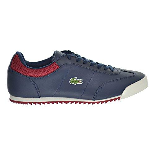 05d57d89 Lacoste Romeau 316 1 Spm Men's Shoes Navy/Red/White 7-32spm0036-003 ...