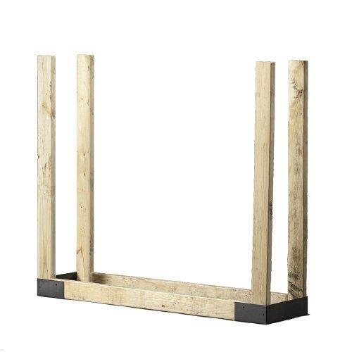 Shelter SLRK Firewood Storage Log Rack Adjustable Bracket Kit by Shelter