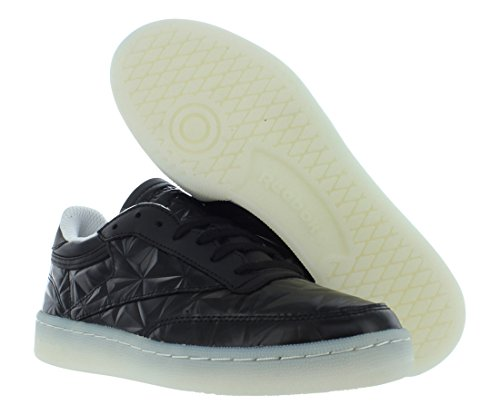 Reebok Kvinnor Club C 85 Diamant Mode Gymnastiksko Svart / Vit