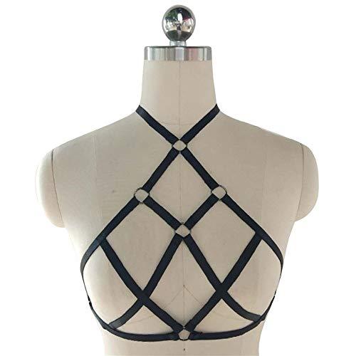SHENLIJUAN Arnés ropa interior hueco cuello colgando belleza ...