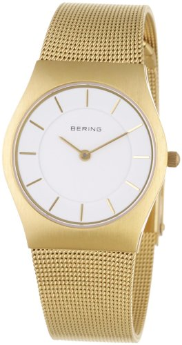 BERING Time 11930-334 Women's Classic Collection Watch with Mesh Band and scratch resistant sapphire crystal. Designed in Denmark.