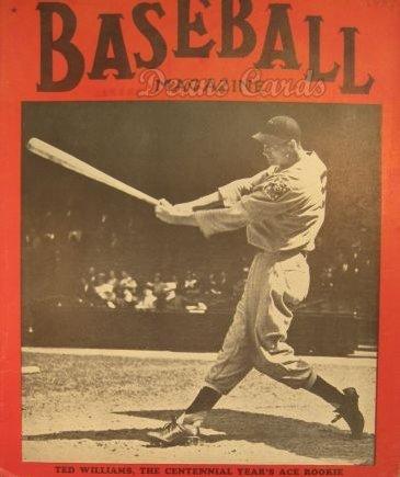 Baseball Magazine December 1939 Boston Red Sox (Baseball Magazine/Publication) Dean's Cards 5 - EX Red Sox