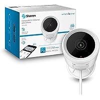 STEREN CCTV-228 Cámara de Seguridad Wi-Fi/Ethernet Full HD 1080p para Exterior, Fija Tipo Mini Bala, 2,4 GHz, detección…