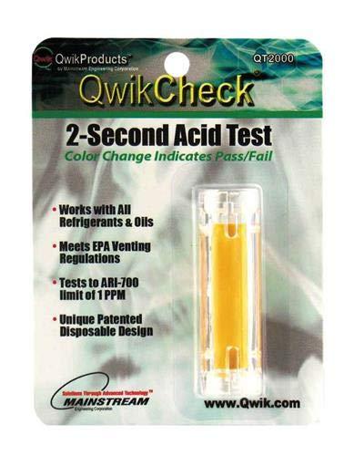 - Qwikcheck 2-Second Acid Test Kit