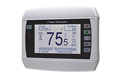 Radio Thermostat Company of America CT50 Programmable Communicating Thermostat, without Module