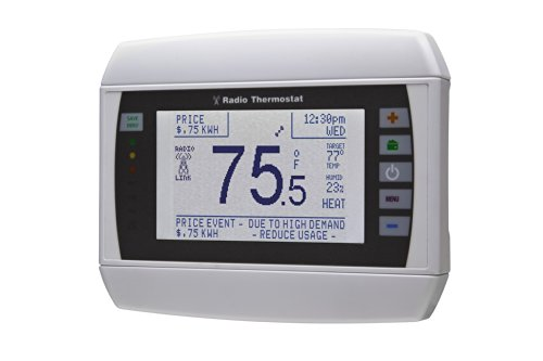 Radio Thermostat Company of America CT80 Programmable Communicating Thermostat, without Module