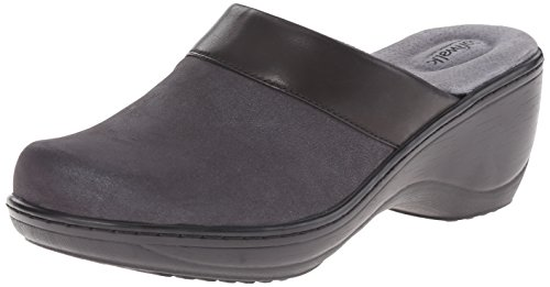 Softwalk Vrouwen Murietta Mule Black Distress