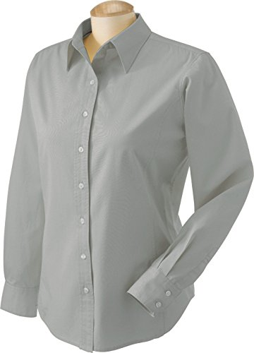 Devon & Jones Classic Ladies' Premium Twill - Pale Green D590W L - Devon And Jones Twill Shirt