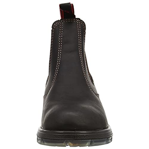 dd3ab632064c free shipping Redback Men s Bobcat UBOK DARK BROWN Elastic Sided Soft Toe  Leather Work Boot