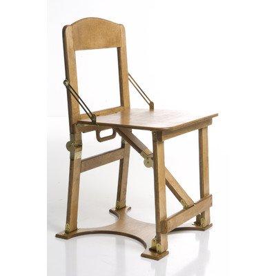 Spiderlegs Double Folding Chair, Natural Birch