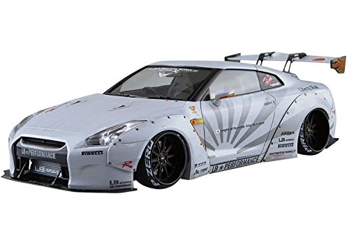 Aoshima 54031 LB Works R35 GT-R Ver.2 1/24 scale kit from Aoshima