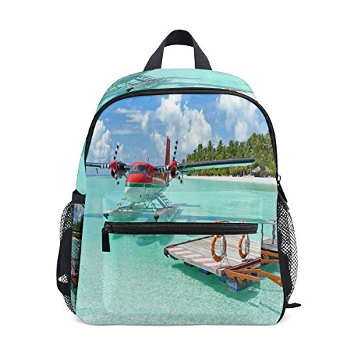 Mini Backpack Tropical Landscapes Small Bag Daypack Lightweight