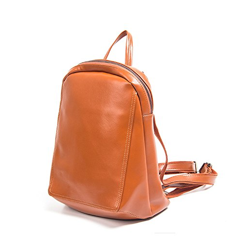 2012 New Fashion Backpack Bag, Casual Bag, Simple Personality Travel Bag, 25x13x32cm, Brown Brown