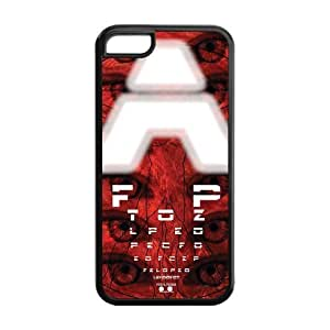 Special Designer Snellen Eye Chart Silicon iPhone 5C Case, Snap on Protective Eye Chart iPhone 5C Case