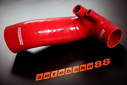 - Autobahn88 Air Intake Silicone Hose Kit for 1993-2001 Nissan Skyline R33 ECR33 GTS R34 ER34 GTT RB25DET (Red -without Clamp Set)