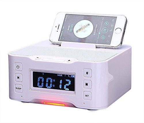PowerLead NFC Bluetooth Docking Speaker Supported Radio A...